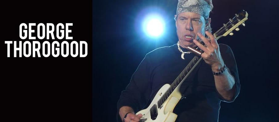 George Thorogood at Burton Cummings Theatre
