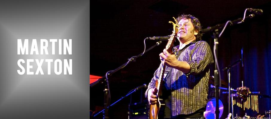 Martin Sexton at West End Cultural Centre