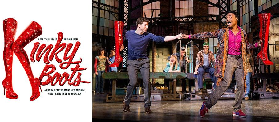 Kinky Boots at Manitoba Centennial Concert Hall