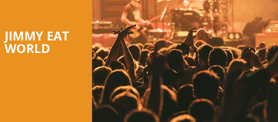 Jimmy Eat World, Burton Cummings Theatre, Winnipeg
