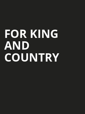 For King And Country, Manitoba Centennial Concert Hall, Winnipeg
